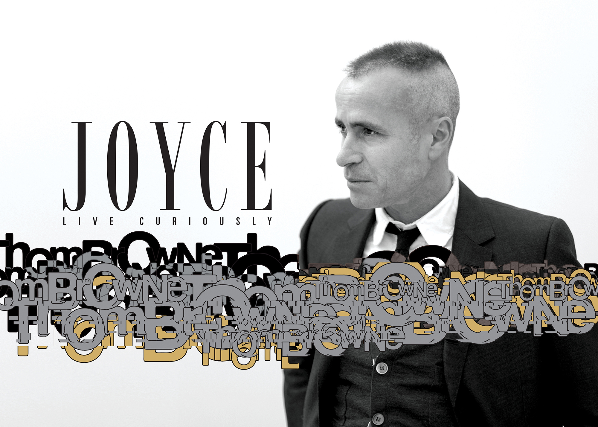 LIVE CURIOUSLY: THOM BROWNE