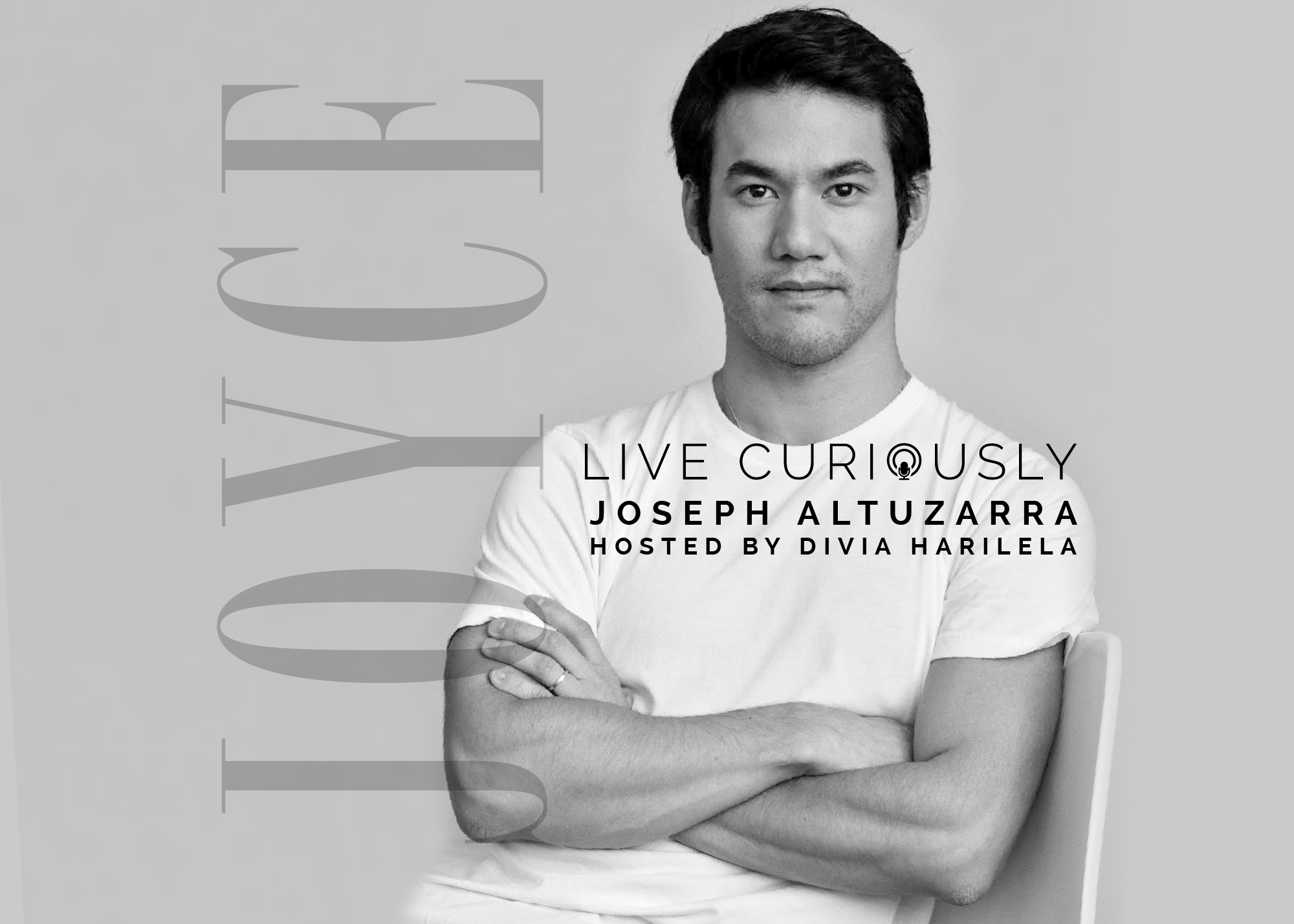 (ENGLISH) LIVE CURIOUSLY: JOSEPH ALTUZARRA