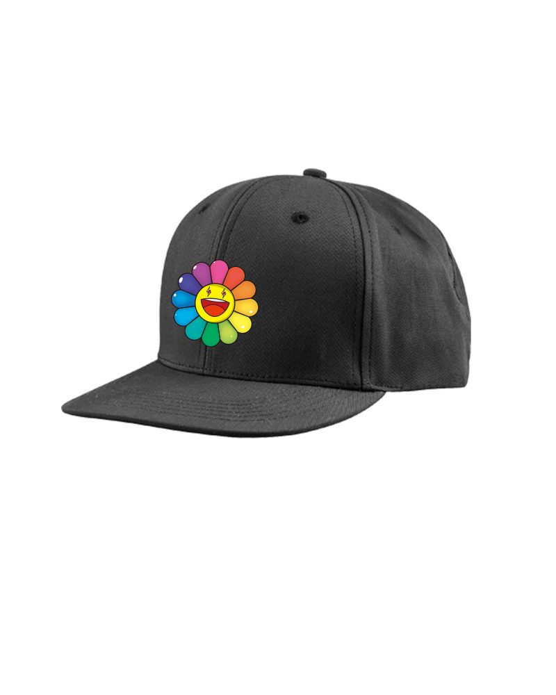 RAINBOW FLOWER BASEBALL HAT (HKD 450)