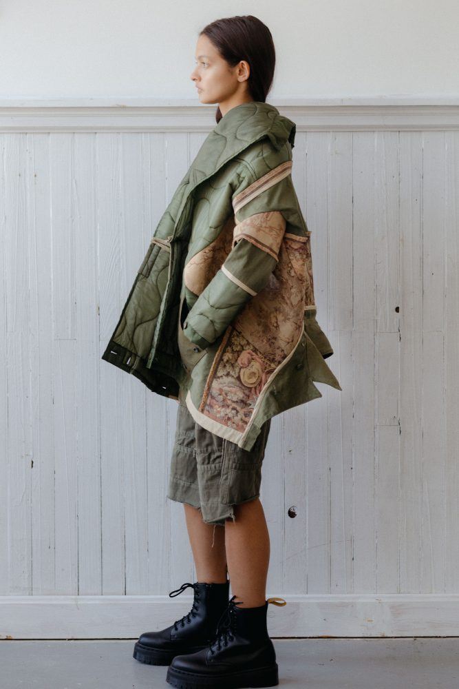 FRENCH PASTORAL COCOON COAT