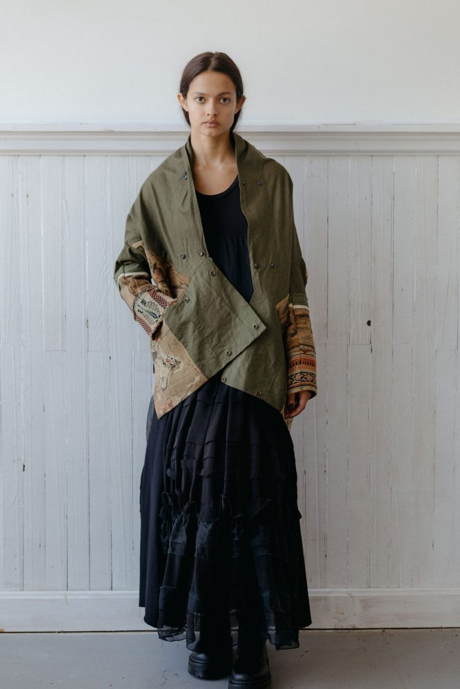 TAPESTRY COCOON COAT