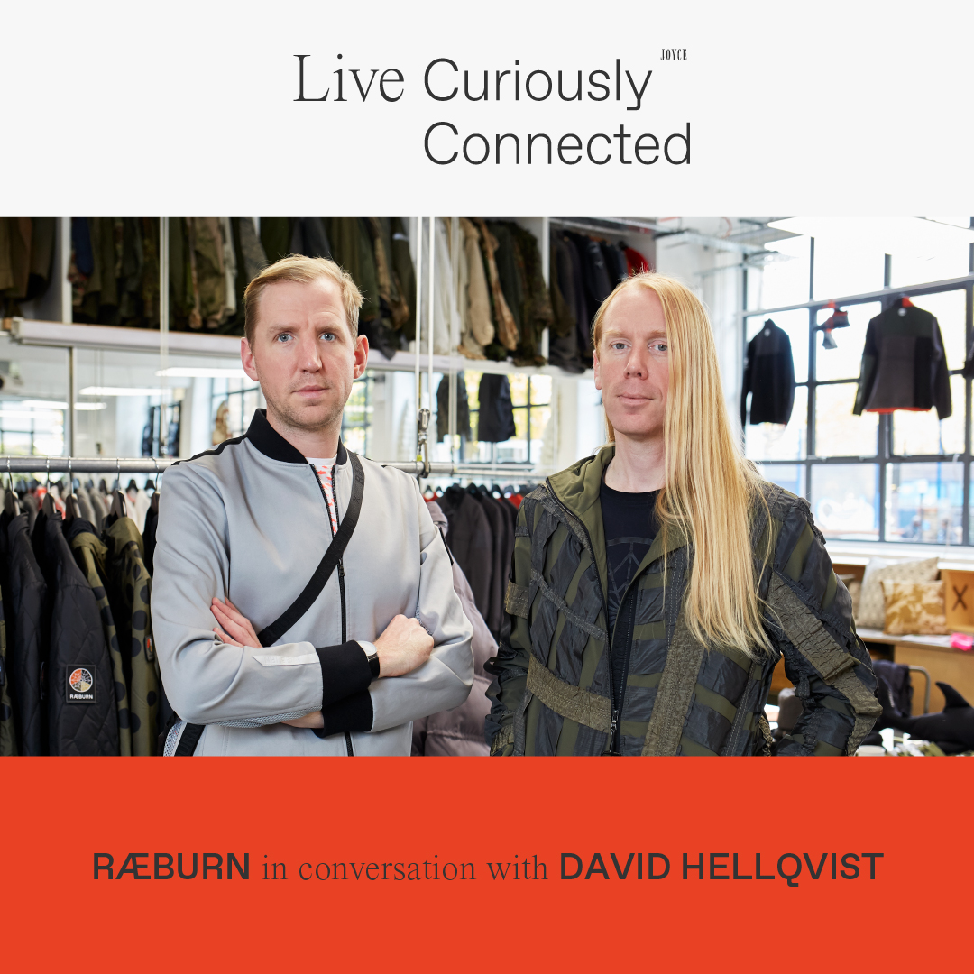 LIVE CONNECTED: RÆBURN IN CONVERSATION WITH DAVID HELLQVIST