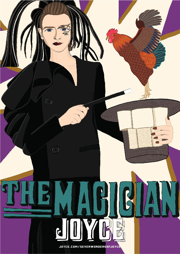 JOYCE's Fourth Wonder is the Magician
