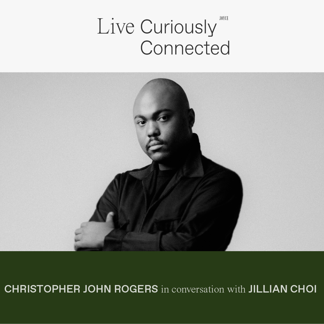 LIVE CONNECTED: CHRISTOPHER JOHN ROGERS