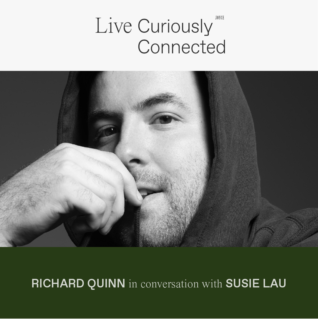 LIVE CONNECTED: RICHARD QUINN