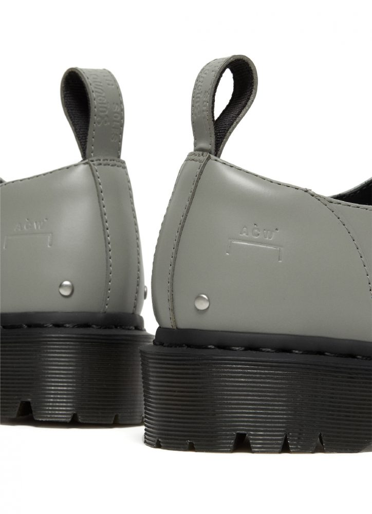 A-COLD-WALL* X DR. MARTENS 1461 GRAPHITE